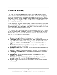 executive summary example business executive summary example business plan business plan executive