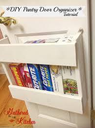 Kitchen Pantry Door Organizer Pantry Organizer Diy Foil More Organizer