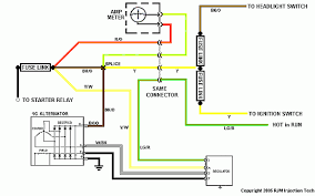 ford 2g alternator wiring diagram images ford mustang wiring wiring up a ford g series alternator bobs garage library
