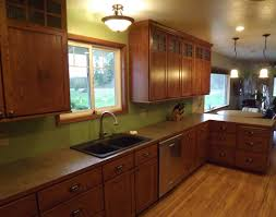 Craftsman Style Kitchen Cabinets On Craftsman Kitchen Pictures To Pin