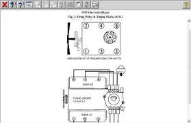 firing order 1995 chevy blazer 4 3l vin w engines firing order com