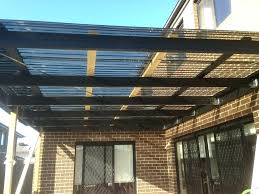 panels image of roof deck panel corrugated suntuf polycarbonate roofing made polyester including and skylight is