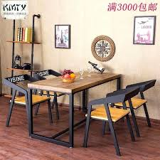 wrought iron and wood furniture. Gorgeous Charming Wrought Iron Chairs Restaurant Dining American Country Vintage Furniture And Wood