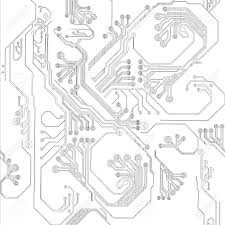 1300x1300 pencil drawing of a electric circuit royalty free cliparts