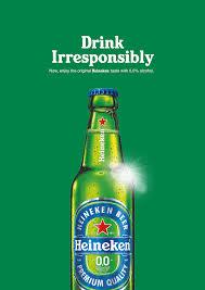 Alcohol In Heineken Vs Heineken Light Heineken Print Advert By Miami Ad School Drink