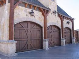 barn door garage doorsWood Garage Doors