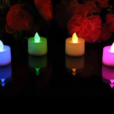 Remote Control Tea Lights Bed Bath And Beyond Set Of 4 Colour Changing Flameless Battery Led Tea Lights