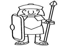 Roman Soldier Helmet Coloring Page Soldier Coloring Page Soldiers