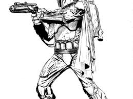50 Top Star Wars Coloring Pages Online Free Boba Fett Coloring Page