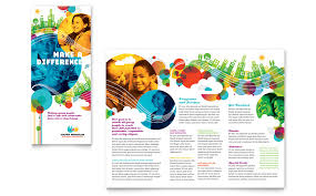 Non Profit Brochure Templates Free Youth Program Tri Fold Brochure Template Word Publisher
