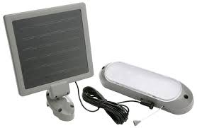 Designers Edge L 949 Rechargeable Solar Shed Lights With 10 Bright