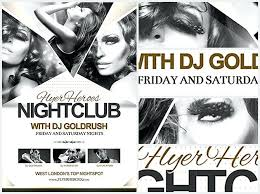 Free Nightclub Flyer Templates Image Collections Template Design ...
