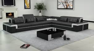 Latest Design Living Room Sofa Big Leather Sofa 0413 B2021 Part 4