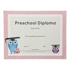 Prek Diploma Preschool Pink Diploma Pack Of 25 Grads4good