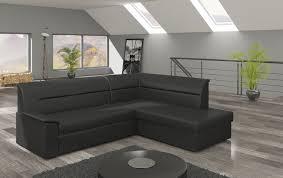 Textil Couch Ecksofa Bettfunktion Schlafsofa Schlaf Design