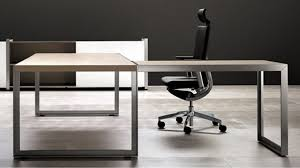 cool modern l shaped desk to complete oikos desk with metal leg natural maple zuri osp designs emette shape computer for your interior idea