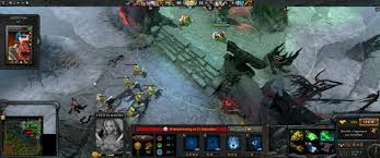 playing dota 2 on a 21 by 9 ultrawide monitor 3440x1440 why is