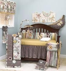 modern black and white crib bedding sets for girls nursery girl set sheets safari carousel baby room scenic brown fl bedroom a