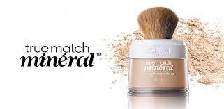 l oreal loreal true match naturale mineral foundation beige w3 spf 19 071249094273 ebay