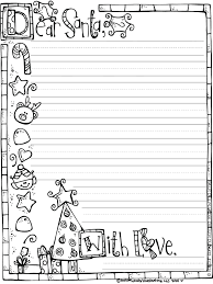 1st grade letter writing template letters to paper friendly