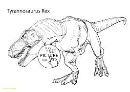 Trex Coloring Pages Best For Kids Regarding Tyrannosaurus Rex Page 7