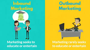 Inbound Vs Outbound Marketing Difference Between Inbound Marketing Vs Outbound Marketing Youtube