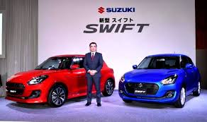 new car launches in japanNew Suzuki Swift 2017 launched in Japan Price mileage features
