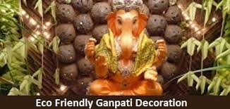 eco friendly ganpati decoration ideas themes for home office and ganesh mandal