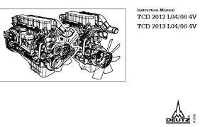 deutz repair service manuals archives · cardiagn com deutz engine tcd 2013 l04 06 4v instruction manual 0312 2443 en