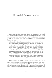 nonverbal communication human behavior in military contexts  page 46