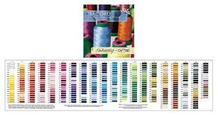 Isacord Color Chart Isacord Polyester Thread Charts Two Styles To Choose From