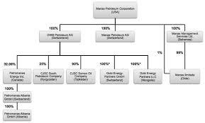 S Corp Organizational Chart Mnp Petroleum Corp Form S 1 February 2 2011