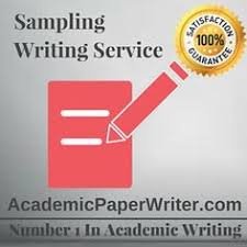 finance assignment help finance writing help finance essay sampling is the procedure of choosing devices from a population of interest so that by studying essay writing