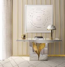 Gilded Design Gilded Furniture Pieces For Contemporary Interior Design