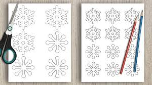 Free printable snowflake templates, patterns, stencils, and designs that you can use for christmas ornaments, decorations, or as coloring pages. 40 Free Printable Snowflake Stencils Templates The Artisan Life