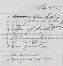 Risultati immagini per nomi di canzoni scritte da springsteen a mano  no copyright