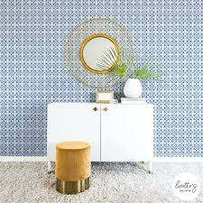 removable wallpaper tiles home depot blue