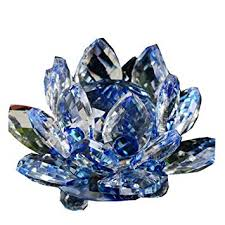 Hot Sale!!1PC Lotus Crystal Glass Collection Lotus ... - Amazon.com