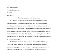 the great gatsby and the american dream university linguistics document image preview