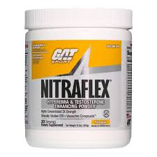 gat clinically tested nitraflex testosterone enhancing pre workout pineapple 300 gram