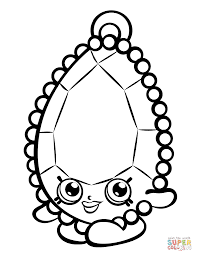 Coloring Pages Shopkins Images For Coloring Awesome Brenda Brooch
