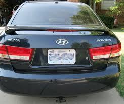 Hyundai Sonata 3rd Brake Light Photos 2004 2009 Hyundai Sonata Spoiler Light