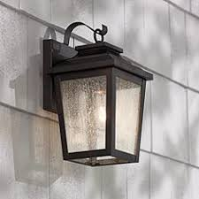 exterior wall lantern with built in electrical outlet. irvington manor 12\ exterior wall lantern with built in electrical outlet l