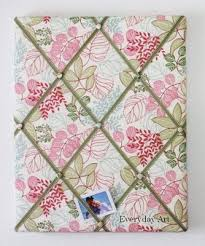 Fabric Covered Memo Board Delectable I Am Obsessed With French Memo Boards A New Way To Use Fabric In A