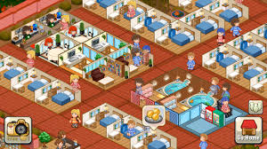 Small Picture Hotel Story Resort Simulation v196 Mod Apk Unlimited Gems