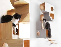 catissa cat tree doubles as stylish wall art urban cat tree c4