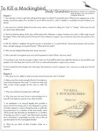 higginbotham michelle to kill a mockingbird study questions chapters 1 2