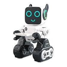 <b>JJRC R4</b> Multifunctional <b>Voice</b>-<b>activated Intelligent</b> RC Robot - White