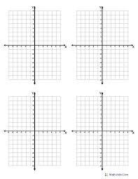 Quadrants Of A Graph Math Free Collection Of Printable Quadrant Grid