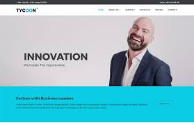 corporate bootstrap html